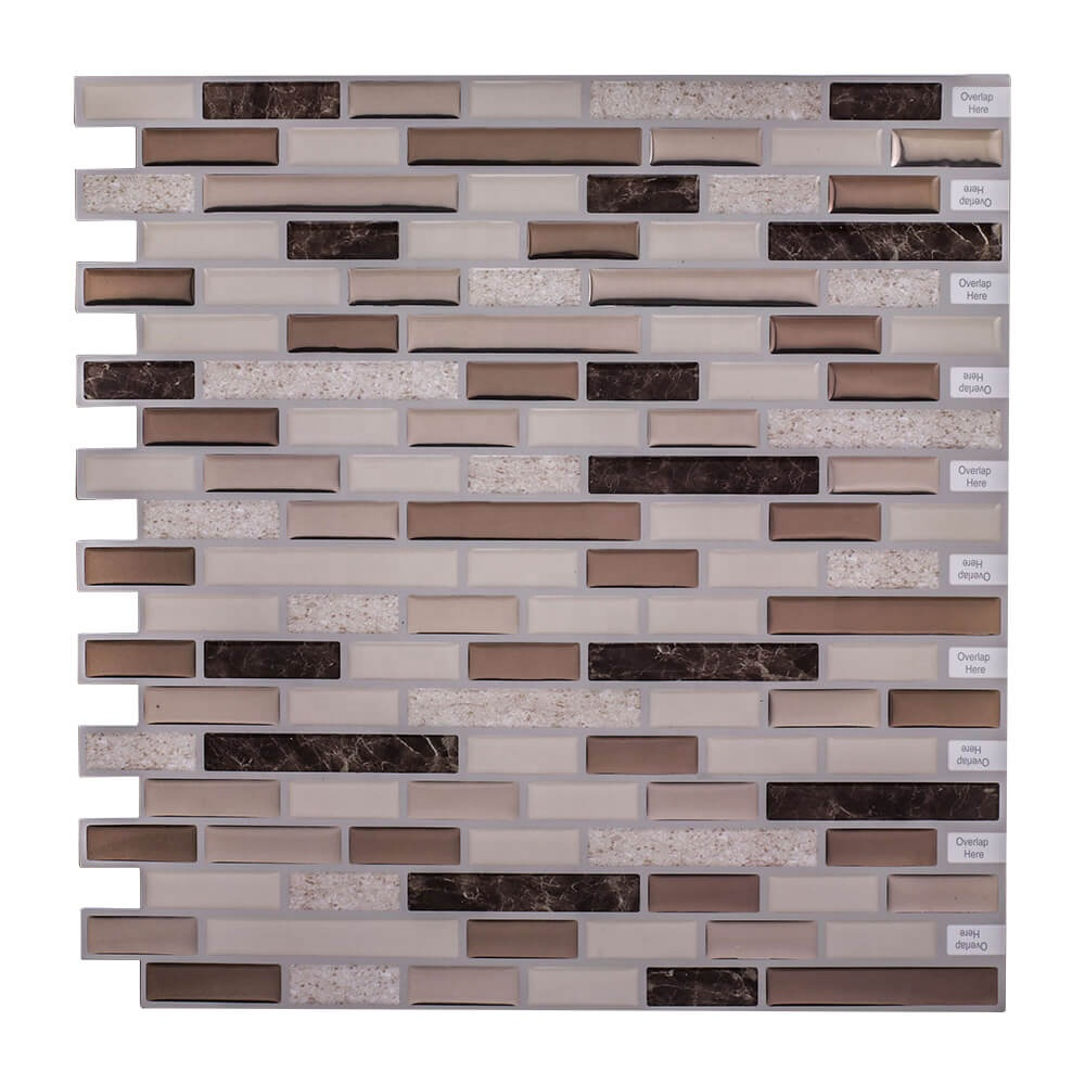 Home Decal Wall Tile Adhesive Mosaic Backsplash Peel N Stick For Kitchen Bathroom And Rv Buy Home Decal Wall Tile Adhesive Mosaic Backsplash Rv Backsplash Product On Alibaba Com