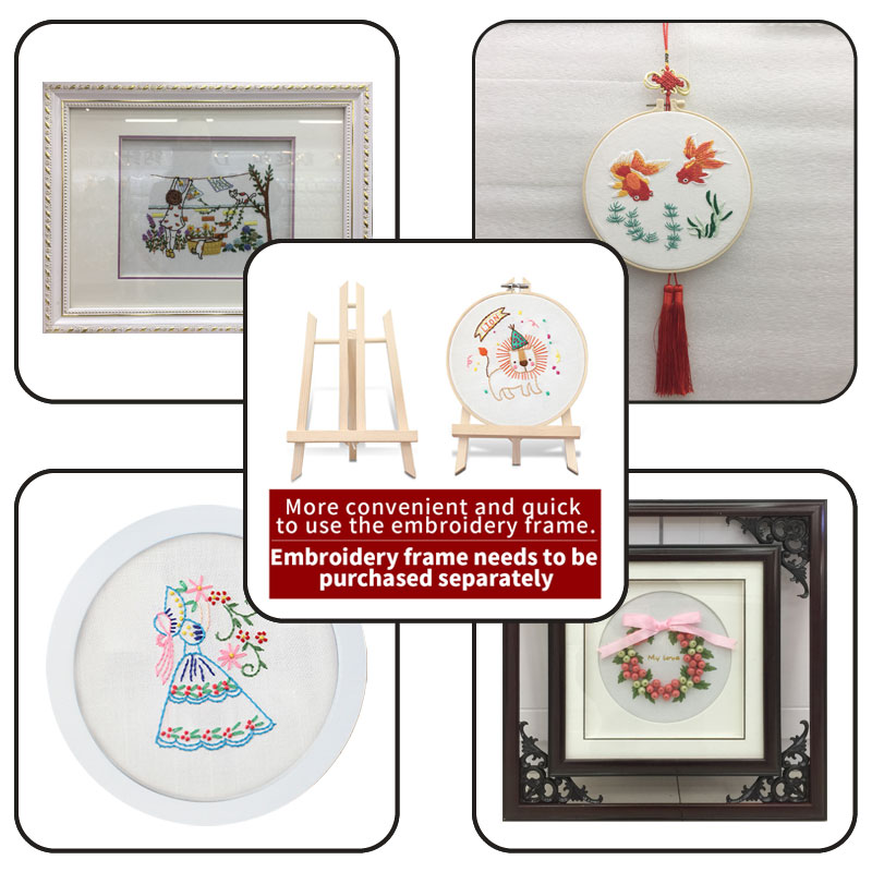 Set Embroidery Hand Made Embroidery Household Decorations Cross Stitch