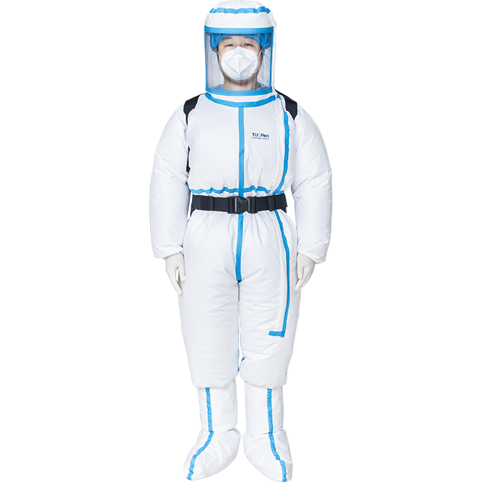 Positive Pressure Gown Clothing Disposable Protective Clothing Non-woven