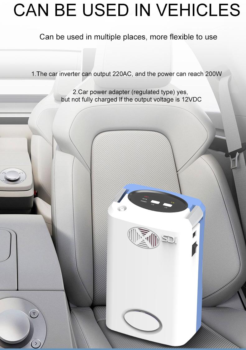 Портативный генератор 3 л, 93%, генератор, генератор сердцевины, батарея, импульсный домашний очиститель воздуха, автомобильная машина