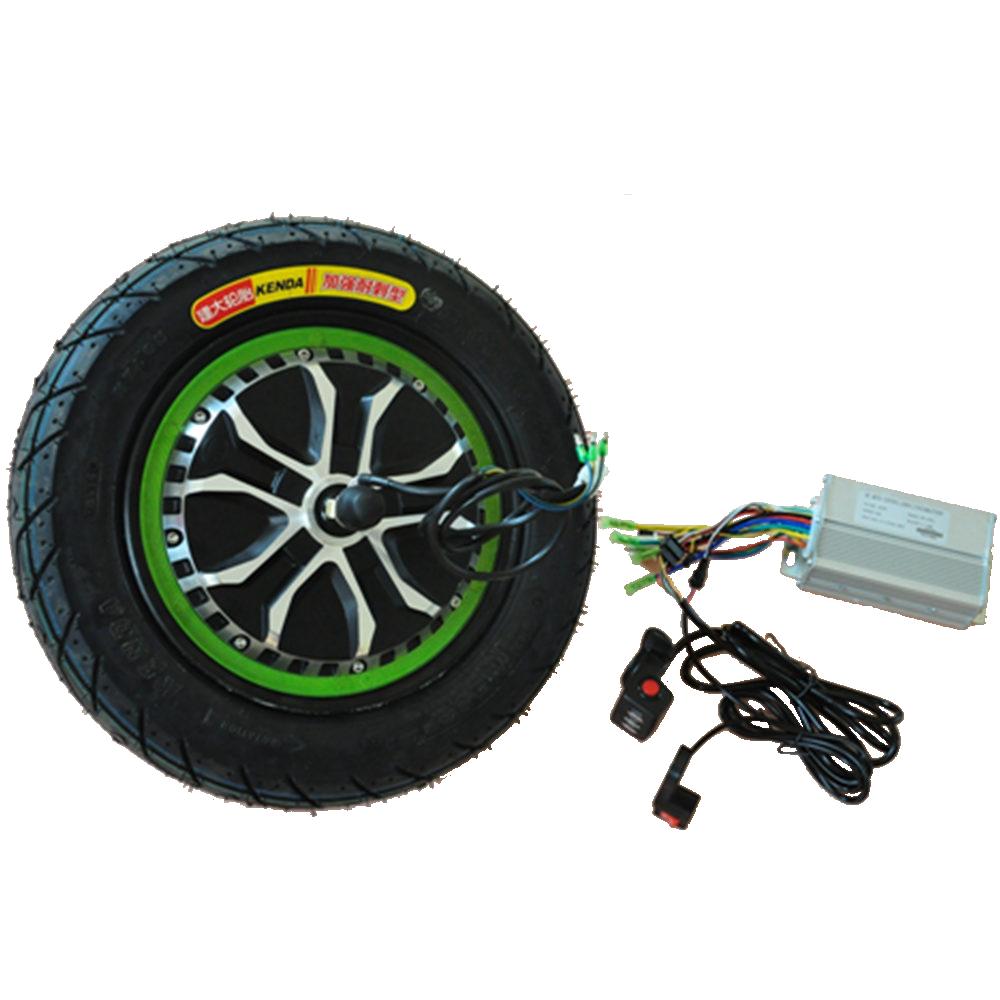 2021 Новые 10 дюймов с электрическим приводом с колесным двигателем 500W 1000w для скутера