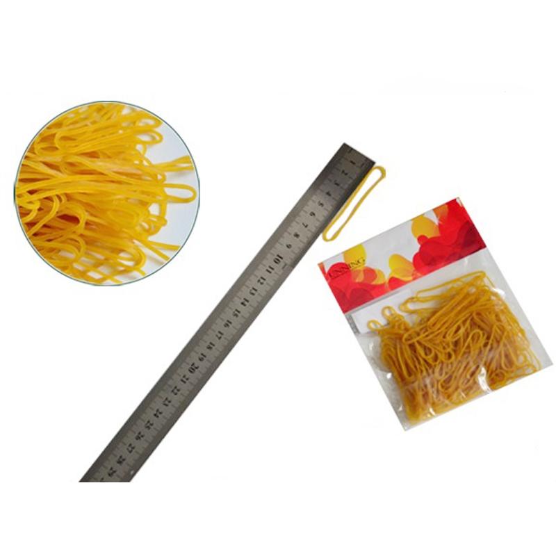 Обычная цветная 100% натуральная силиконовая желтая эластичная резинка