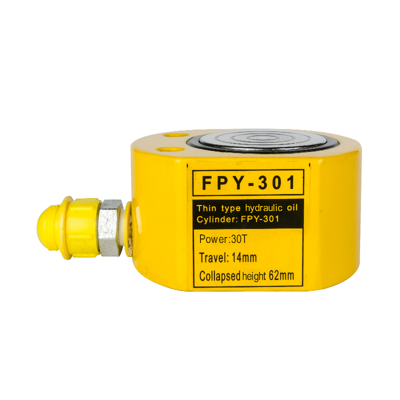 Lifting Single Acting Low Height Ultra-thin Jack FPY-301 30Ton Hydraulic Cylinder Jack 5-50T Other hydraulic tools