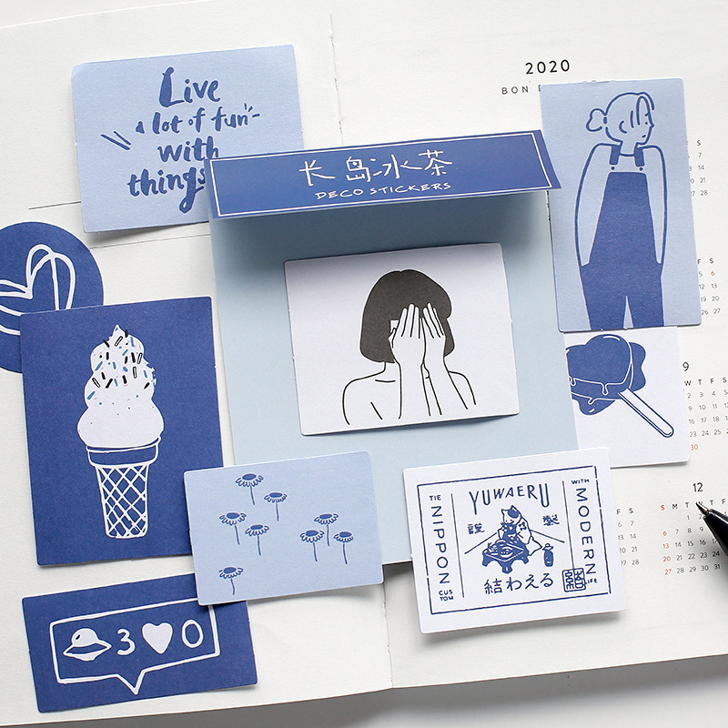 60pcs/pack sticker Kawaii life Diary Planner decoration Mobile Stickers decoration DIY Craft Stickers china stationery market