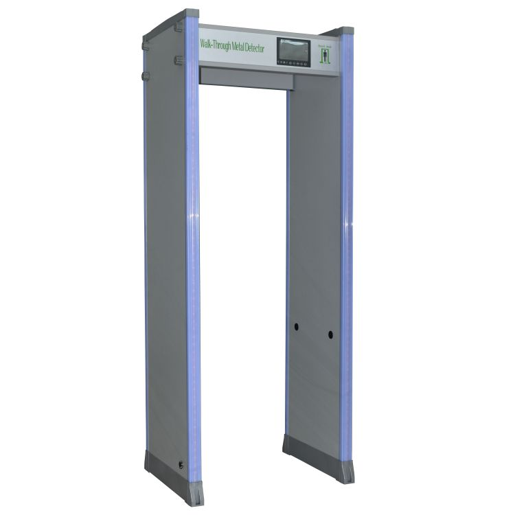 Высокочувствительное защитное оборудование, 45 зон, дверная рама, ворота, проходной металлоискатель