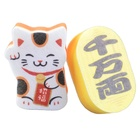 New 2021 New Kitchen Sponge Cat Sponge With Scouring Pads Cleaning Products