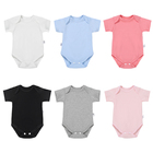 Clothings Baby Baby In Stock Babies Clothings Girls Summer 100% Cotton New Born Clothes Baby Boys' Rompers