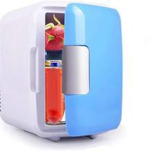 Портативный автомобильный морозильник 4L мини холодильник автомобильный холодильник охладитель нагреватель Универсальные Запчасти для ав...(Китай)