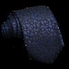 Black Tie Royal Flower Tie