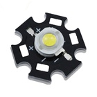 High Lumen Epistar 45mil Sanan Epileds 45 mil Bridgelux 3W 1W High Power LED with Star Aluminum Heat Sink PCB