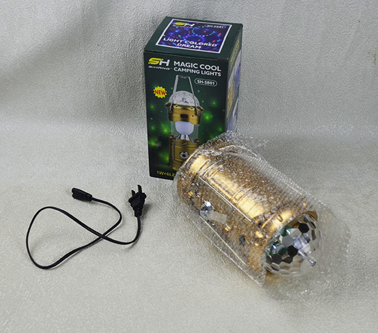 GT-YJZS-06 наружный портативный складной сценический светильник USB Перезаряжаемый Солнечный СВЕТОДИОДНЫЙ светильник для кемпинга
