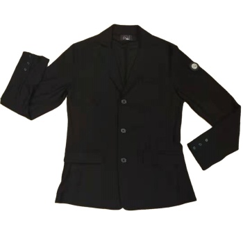 zipper durable using new type waterproof equestrian show jacket of apparel