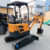 CE certificate 1ton 2ton mini crawler excavator for sale