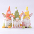 Vlovelife 2021 New Easter Gnome Table Decorations Easter Ornaments Faceless Doll Elf Bunny Easter Gnome For Home Party Decor