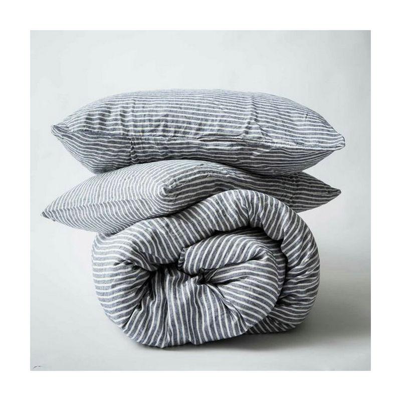 Комплект постельного белья из 3 предметов из 100% чистого французского льна