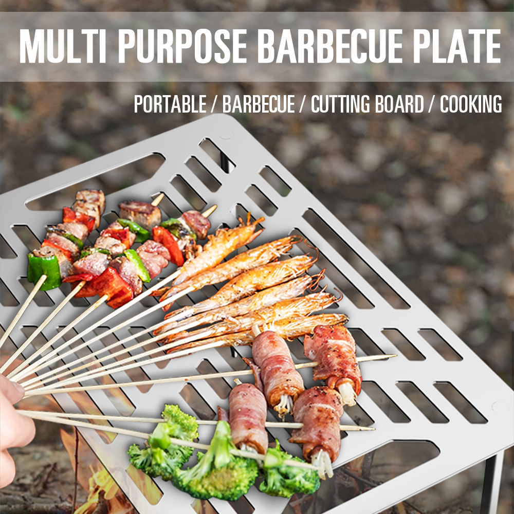 Garden Outdoor Camping Charcoal Barbecue BBQ Grill Toppers