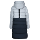 Turkey Fashion Stitching Color 96% Cotton Long Thick Winter Coat Down Jackets Turkey