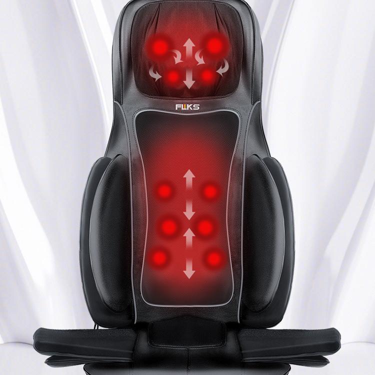 2D/3D Shiatsu  Acupressure Massager Seat,  Full Back Massage Cushion Vibrating with Heat