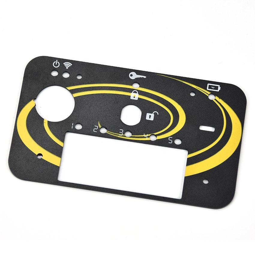 Индивидуальный размер шелкотрафаретная печать акриловая передняя панель управления