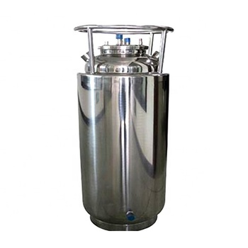 50LB to 200LB stainless double jacketed solvent recovery tank with cooling coil and DIP tube