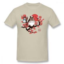 Футболка унисекс из 100% хлопка с графическим принтом, аниме, Миядзаки, Хаяо, тонари, no Totoro(Китай)