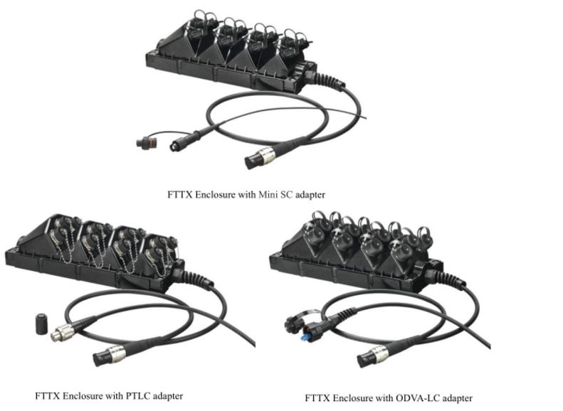 H09d8a5c102864da7945b5430bf457416E - Waterproof Fiber Optic FTTX Enclosure For FTTH FTTA or Military Communication