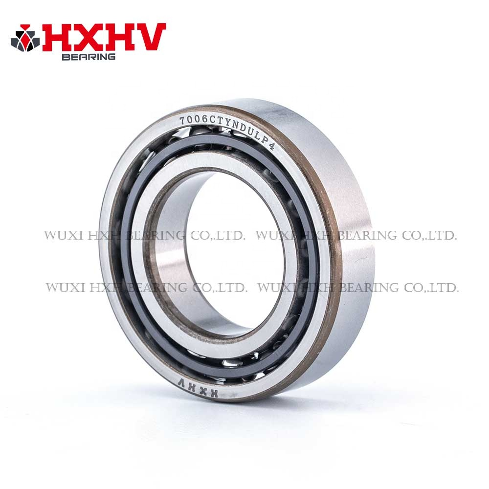 Stainless steel bearing, series 7000 to 7300 single row Angular Contact Ball Bearing size