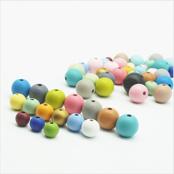 loose lotus wood beads matte customize colorful jewelry making necklace trendy Gum toys bulk bead for DIY