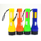 New Design Plastic Led Flashlight Torch Cheap Mini light Torch With Rope