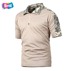 Byval Half Zip Polo Shirt Military T-Shirt Custom Summer Quick Dry Polyester Hiking Running T Shirt Customize Your Design Polo
