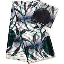 2020 новейшие восковые ткани высшего качества винтажная шелковая восковая ТКАНЬ золотые Африканские Восковые принты ткань 4 + 2 ярдов/партия д...(Китай)