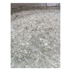Glass Terrazzo Factory High Quality Irregular Clear Crushed Glass Bottle Powder For Terrazzo Floor