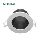 Cob Led Led Mission DL1217 COB Led Waterproof Aluminium White Body Hotel Ceiling Light