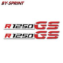 Новинка 2 X мотоциклетные колеса топливного бака обтекатель шины шлем ноутбук отражательные переводные наклейки для R1200GS R1250GS R1200 GS R1250 GS(Китай)