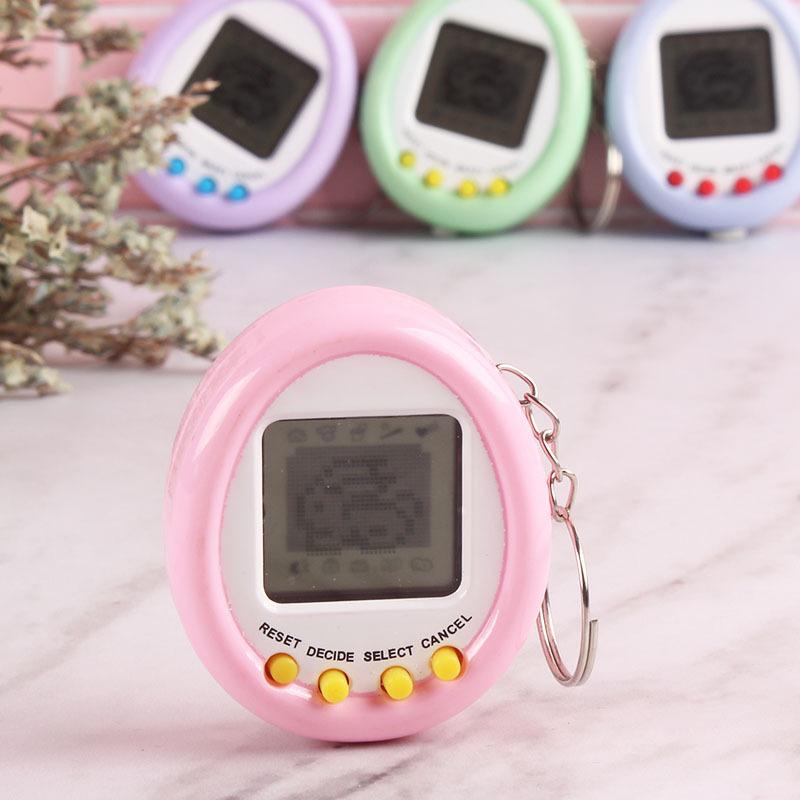 Тамагочи электронные игрушки подарочные брелки на домашние животные игрушки, подарок на Рождество, образовательные увлекательные 90S Ностальгический виртуальной кибернетический питомец игрушка