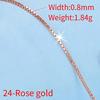 24-Rose gold