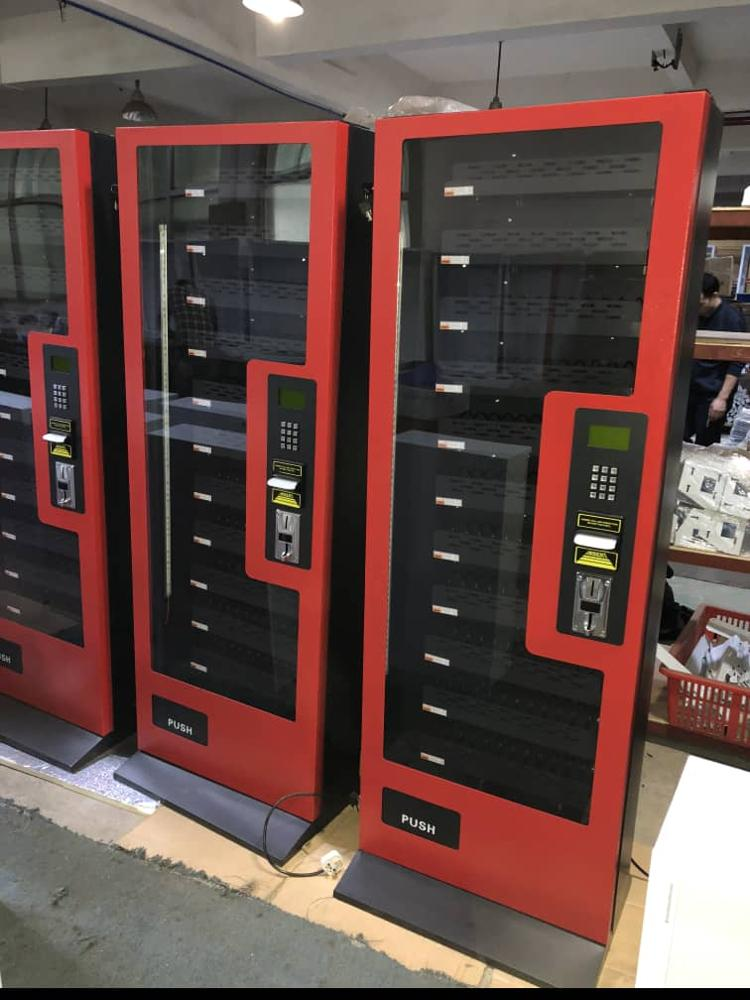 2020 Популярный торговый автомат для закусок, 11 каналов, монетный комбинированный торговый автомат для продажи, акция