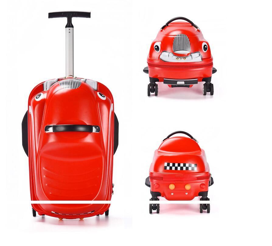 Чемодан для верховой езды, Детский 3D самокат, чемодан для детей, дорожная тележка, сумка-Спиннер, чемодан, тележка для детей