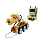 Video Camera Crawler Sewer Camera Systems CCTV Inspection System For General Sewer Drain Pipe Video Robot Crawler Camera For Sale Low Cost