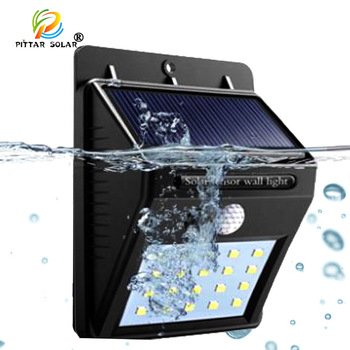 pir motion sensor lamparas solares luz solars powered wall lamp home outdoor landscape lighting led solar garden lights
