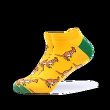 Мужские летние повседневные носки SANZETTI, 1 пара разноцветных Хлопковых Носков с забавным рисунком гитары и футбольного мяча, носки-башмачки ...(Китай)