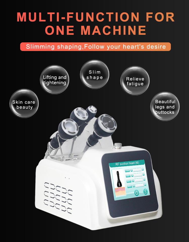 2021 vacuum RF body  slimming skin rejuvenation cavitation weight loss machine