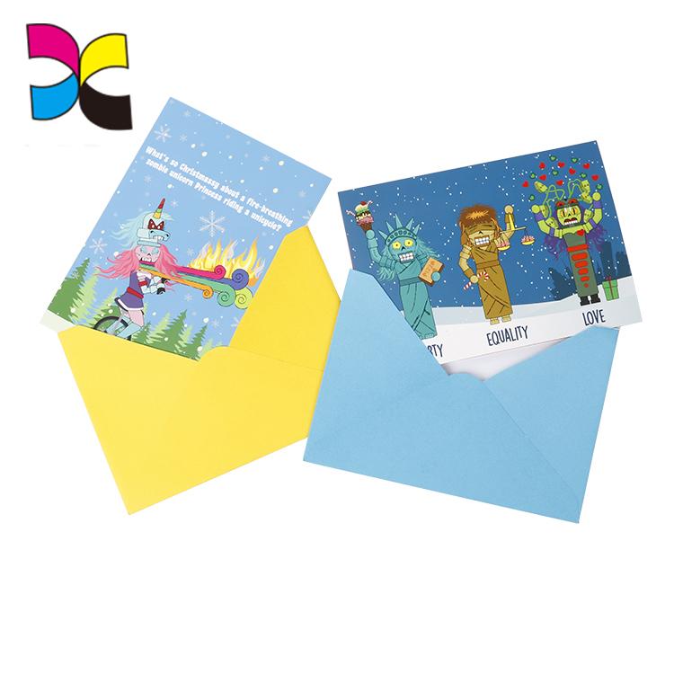 Бумажная поздравительная открытка, флэш-карта, пригласительные открытки, печатная служба