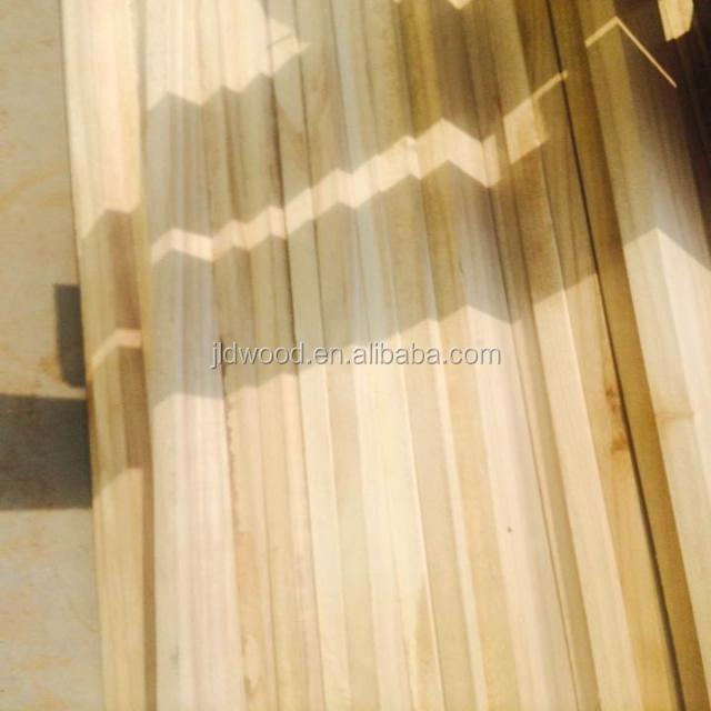 China Factory Paulownia Shan Tong Wood Price Paulownia Solid Wood Panel for Coffin Parts