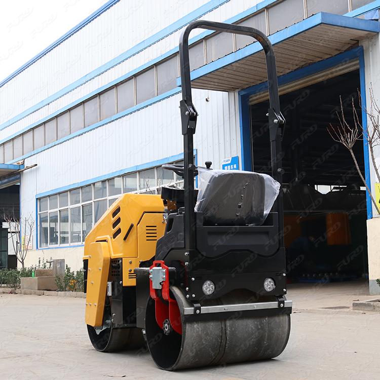 Good Price Mini Vibratory Drum 1 ton Asphalt Road Roller Compactor