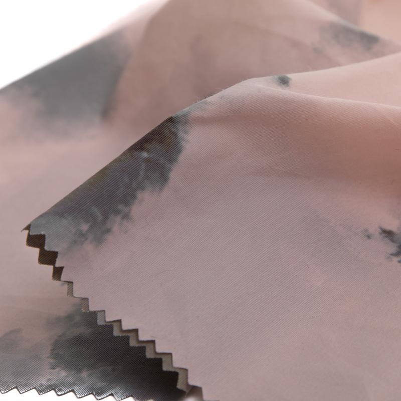 63 нейлоновая, 37 хлопковая, водонепроницаемая t-образная ткань с цифровой печатью для пальто, курток, одежды