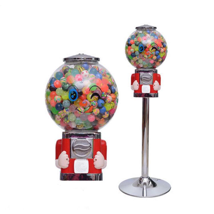 Высококачественный металлический торговый автомат с супершариками, торговый автомат с монетами для супермаркетов, мальчиков и девочек