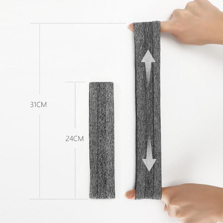 Спортивная повязка унисекс, силиконовая Беговая баскетбольная повязка для фитнеса, повязка для йоги, повязка для пота