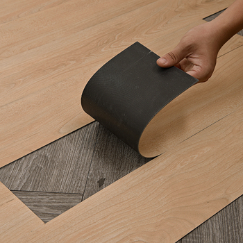 3mm Virgin Material Soundproof Dry Back Glue Down pvc Vinly Floor Plank plastic decking Flooring Tiles