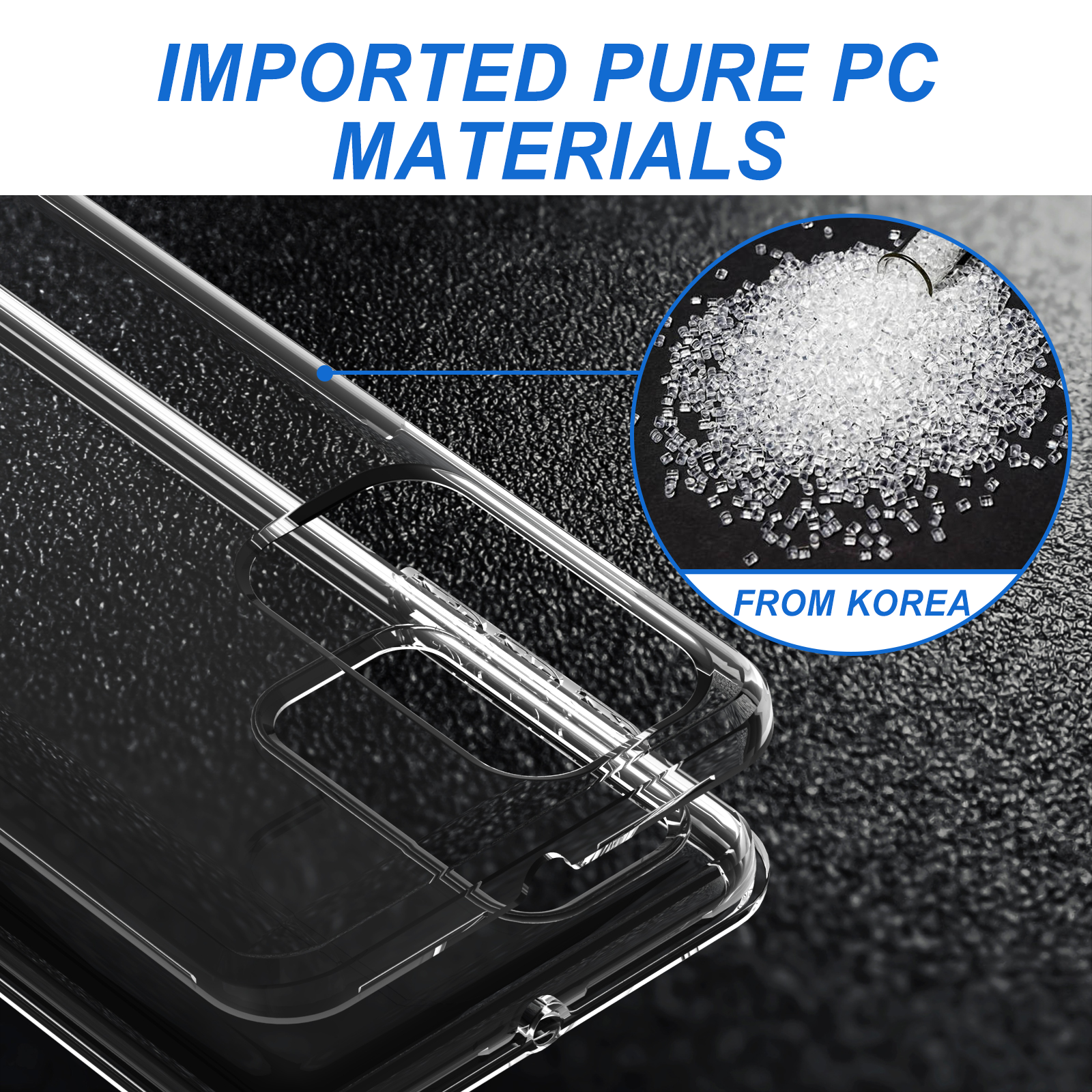 Hybrid Dual Layer clear phone case fundas Cover for Huawei y9 prime 2019 y9s p smart z p40 lite